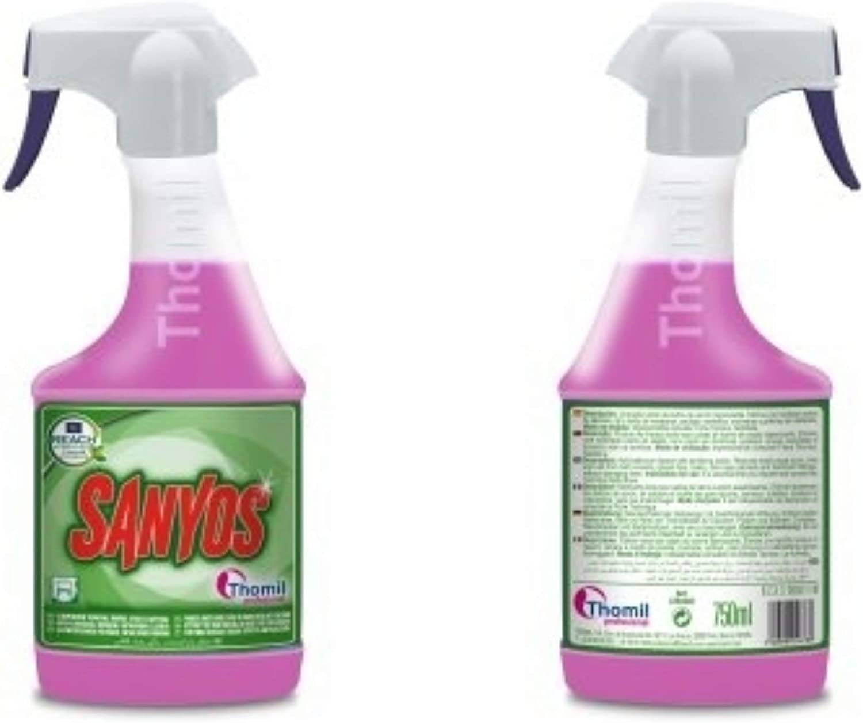 SANYOS LIMPIADOR GENERAL BAÑOS EFECTO ANTICAL Limpiador ácido de ...