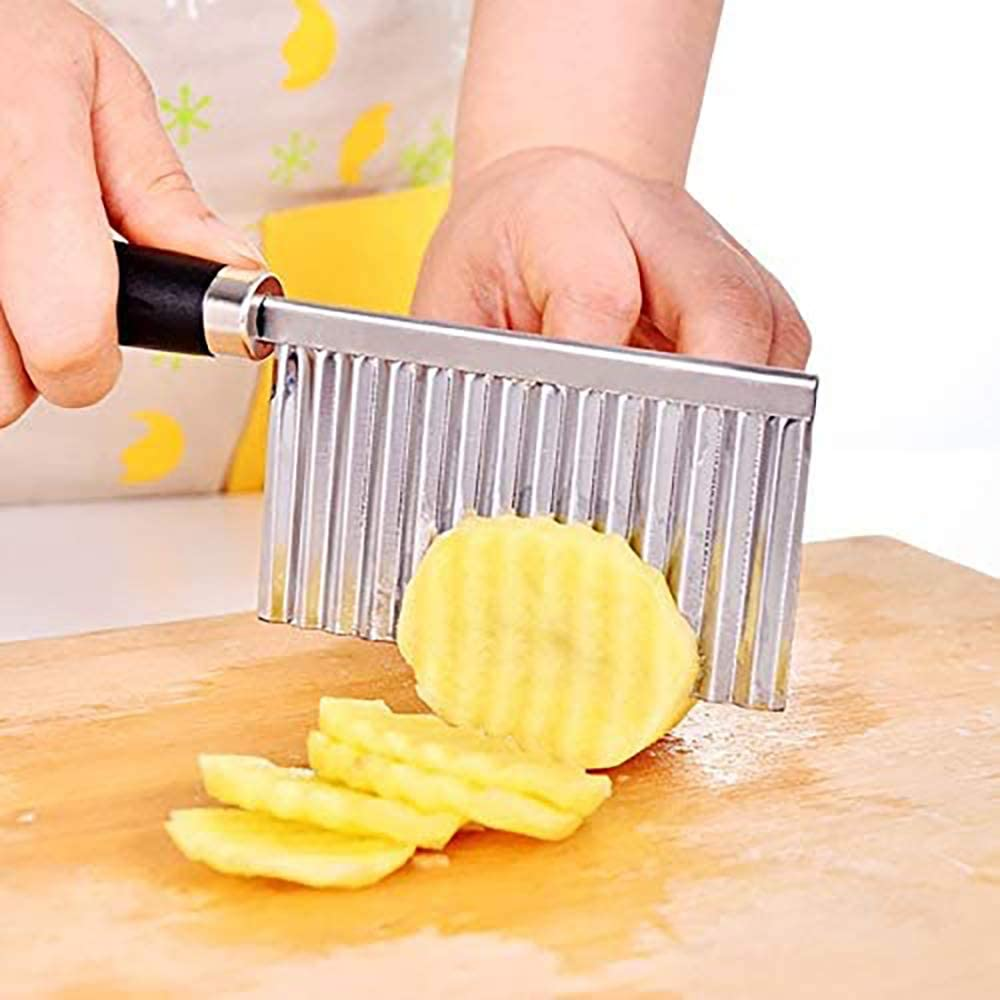 70% Off Coupon – Stainless Steel Potato Cutter Wavy Fries