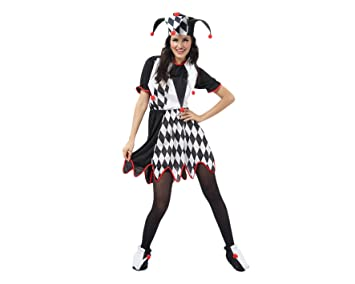 Juguetes Fantasia - Disfraz bufon mujer adulto: Amazon.es ...