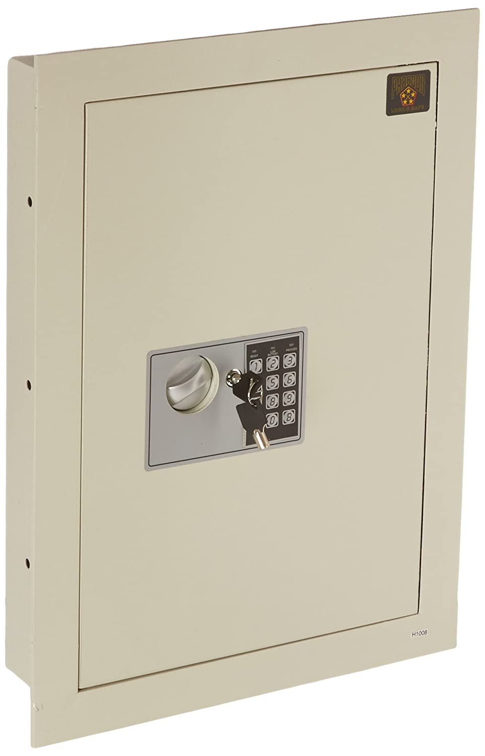 Paragon 7700 Flat Electronic Hidden Wall Safe For Large