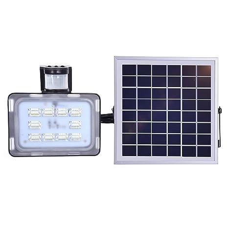 Viugreum Solar Flood Light, 20W 2000LM LED al aire libre Sensor de movimiento solar Lights