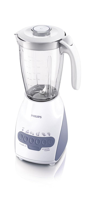 Philips HR2117/02 - Licuadora (2 L, Batidora de vaso, Blanco, 0,85 ...