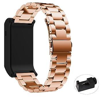 Reloj, Reloj Inteligente yustar accesorios correa de pulsera de acero inoxidable pulsera con herramientas de