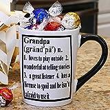 Tumbleweed Grandpa Mug; Coffee Cup; Stoneware Coffee Mug