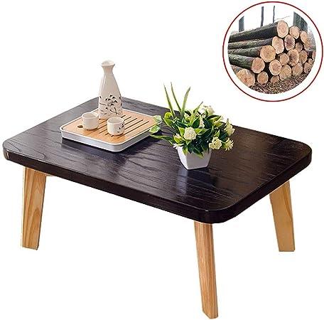 Muebles y Accesorios de jardín Mesas Madera Maciza Mesa de café Tatami Cama Mesa de Ordenador Mesa de té de Estilo japonés, Proceso de Pintura con el Medio Ambiente: Amazon.es: Hogar