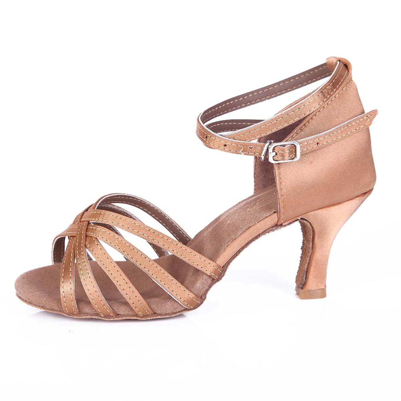 Jfkstore Women's Latin Salsa Tango Ballroom Dance Shoes