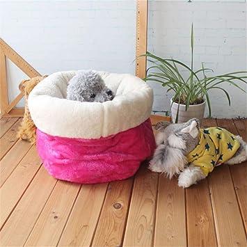 Wuwenw Lindo Saco De Dormir Para Mascotas Cálido, Suave, Perro, Gato, Litera