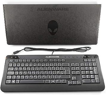 Alienware Genuine Original DELL USB Keyboard QWERTY UK Layout ...