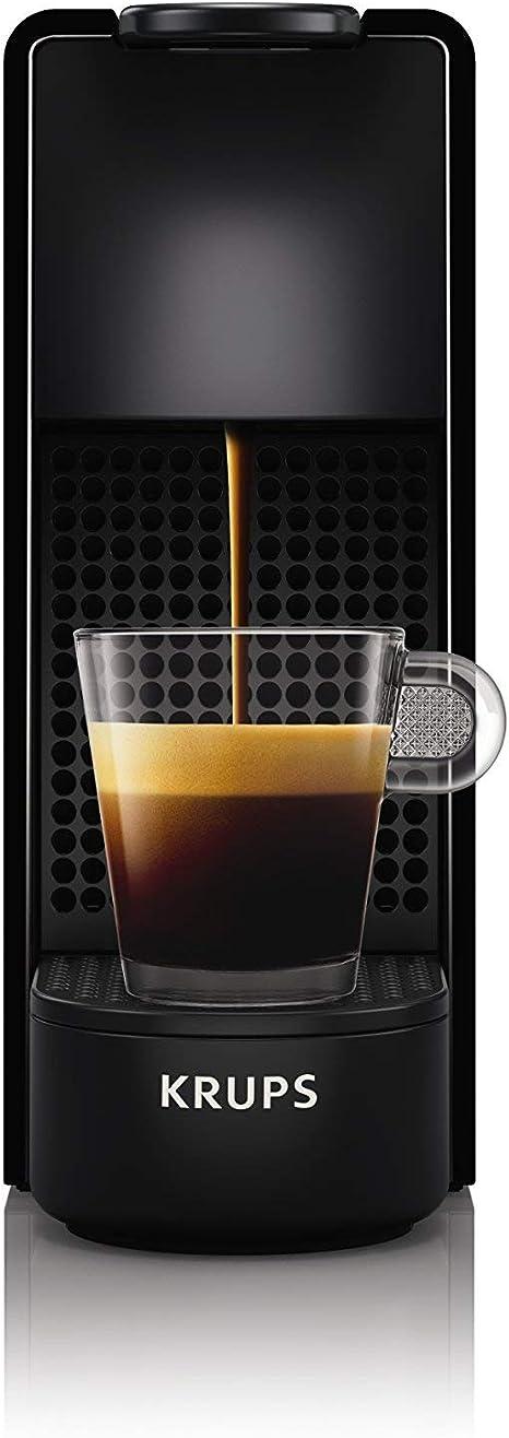 Krups Nespresso XN1108 Essenza Mini Cafetera de cápsulas, 1260 vatios, negra, 0.6 litros (Pack Cápsulas bienvenida incluido): Amazon.es: Hogar