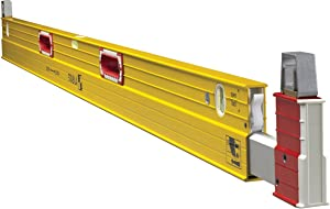 Stabila 35712 Extendable (7 to 12 foot) Plate to Plate Level, Yellow