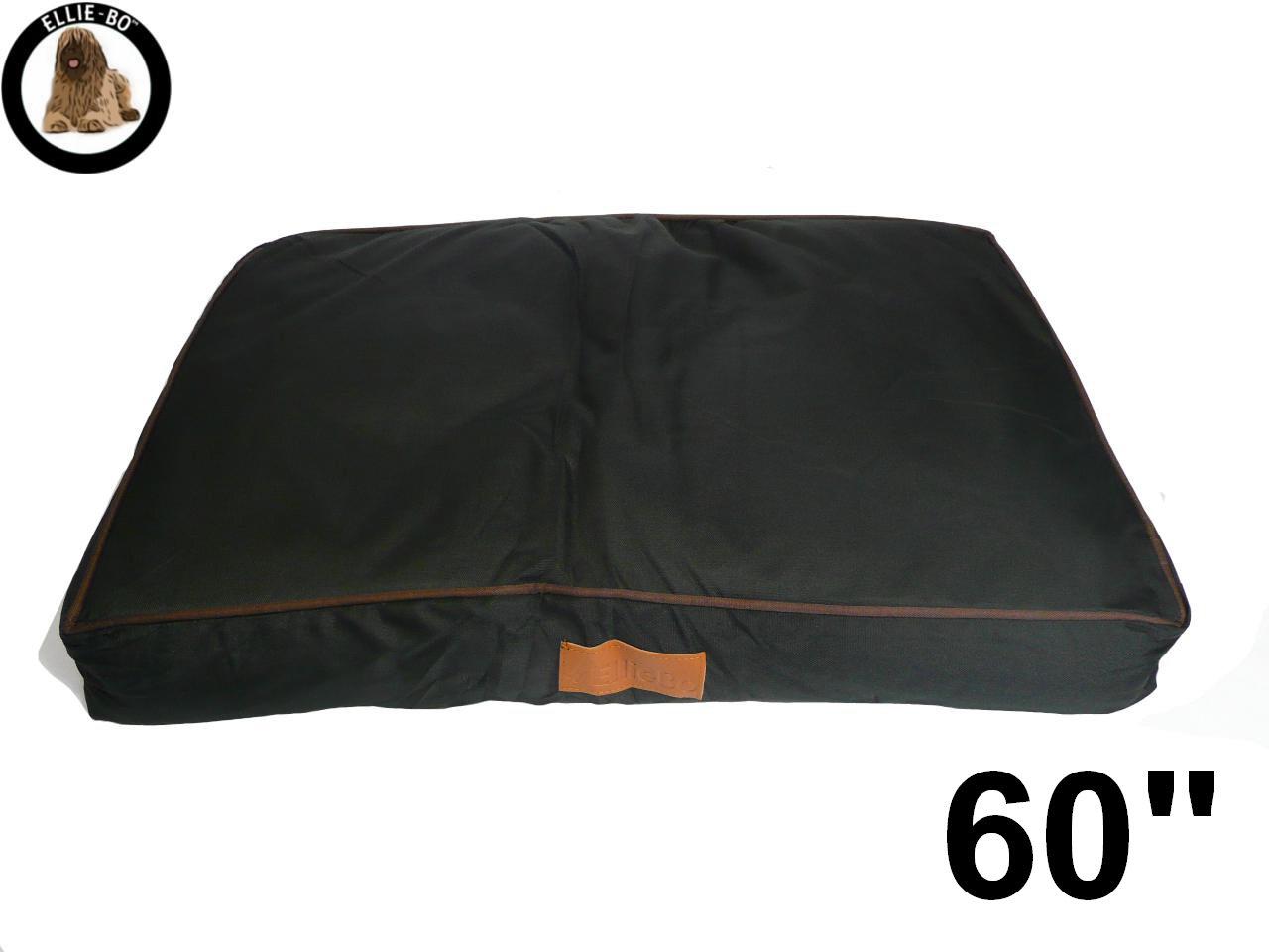 Ellie-Bo Jumbo Waterproof Dog Bed, 152 x 100 cm, Black