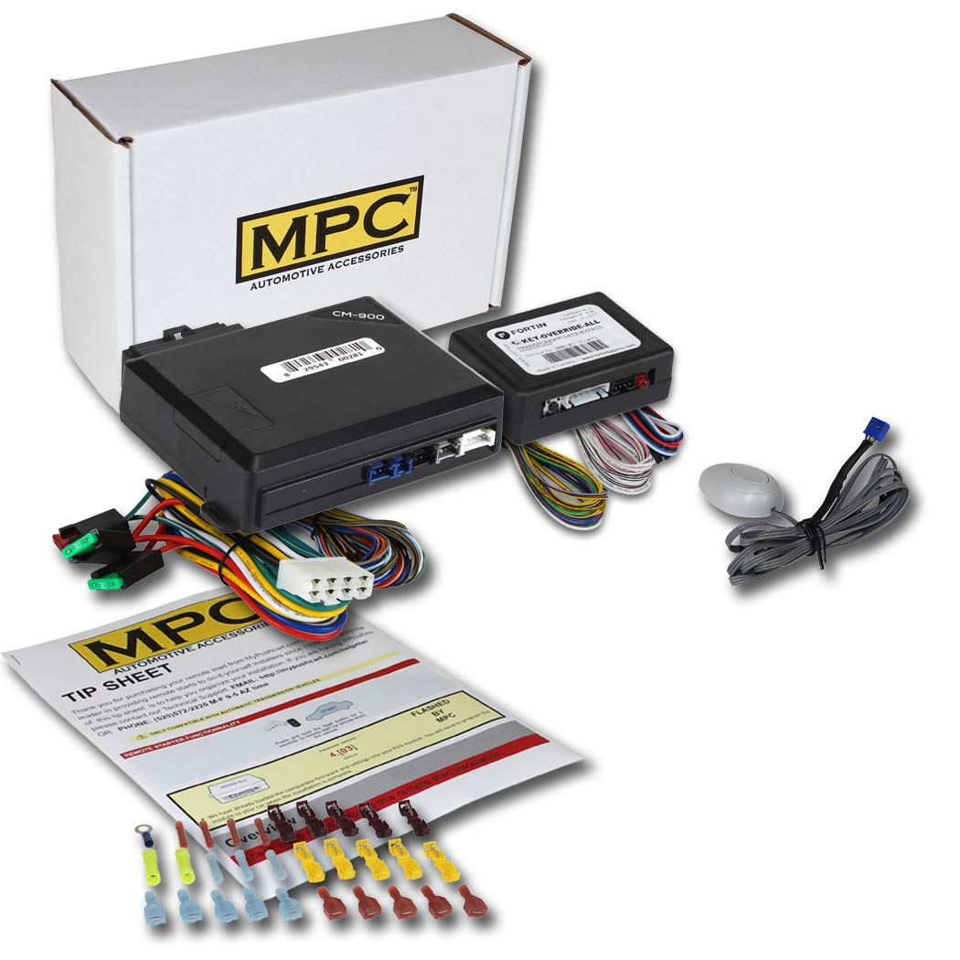 MPC Complete Add-on Remote Start Kit for 2004-2005 Ford Explorer Sport Trac - Use Your Factory Remote - Includes Bypass