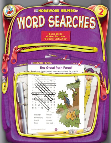 - Word Searches Homework Helper, Grade 2