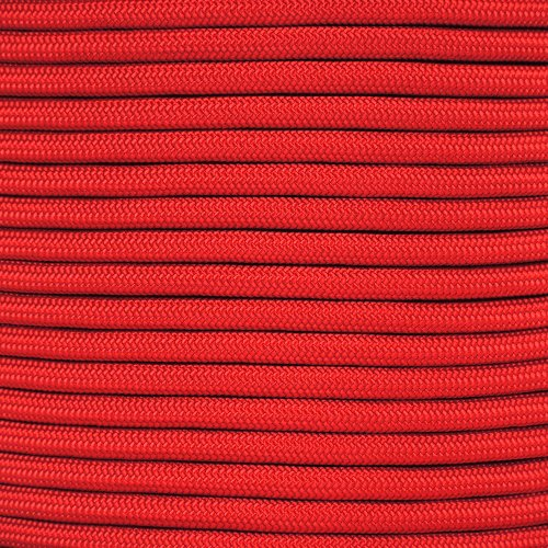Paracord Planet Para-Max Paracord 1000 lb Tensile Strength - 10' 25' 50' & 100' (Imperial Red, 10ft)