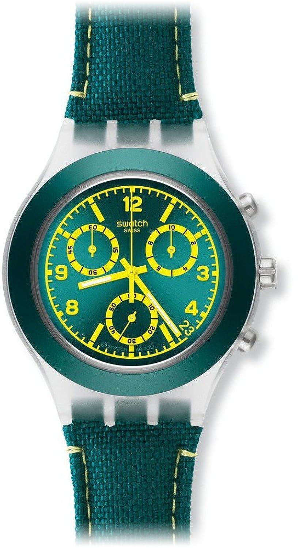 [スウォッチ]SWATCH 腕時計 IRONY DIAPHANE CHRONO(アイロニー ディアファンクロノ) COLESLAW(コールスロー) SVCK4070 メンズ 【正規輸入品】 B00B3SAKEO