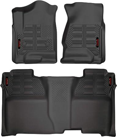 19 Silverado 1500 LD Husky Liners Front /& 2nd Seat Floor Liners Fits 14-18 Silverado 1500 19 Sierra 1500 Limted 15-19 Silverado 2500//3500 Crew Cab