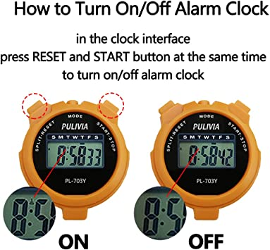 Split//Lap Timer Function BODY Sculpture Sports Fitness /& Wellbeing Stopwatch