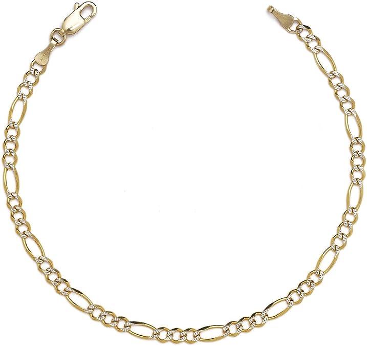 "2mm Sterling Silver Diamond Cut Belcher Chain Bracelet Or Anklet 7/"" 8/"" 9/"" 10/"" 11"
