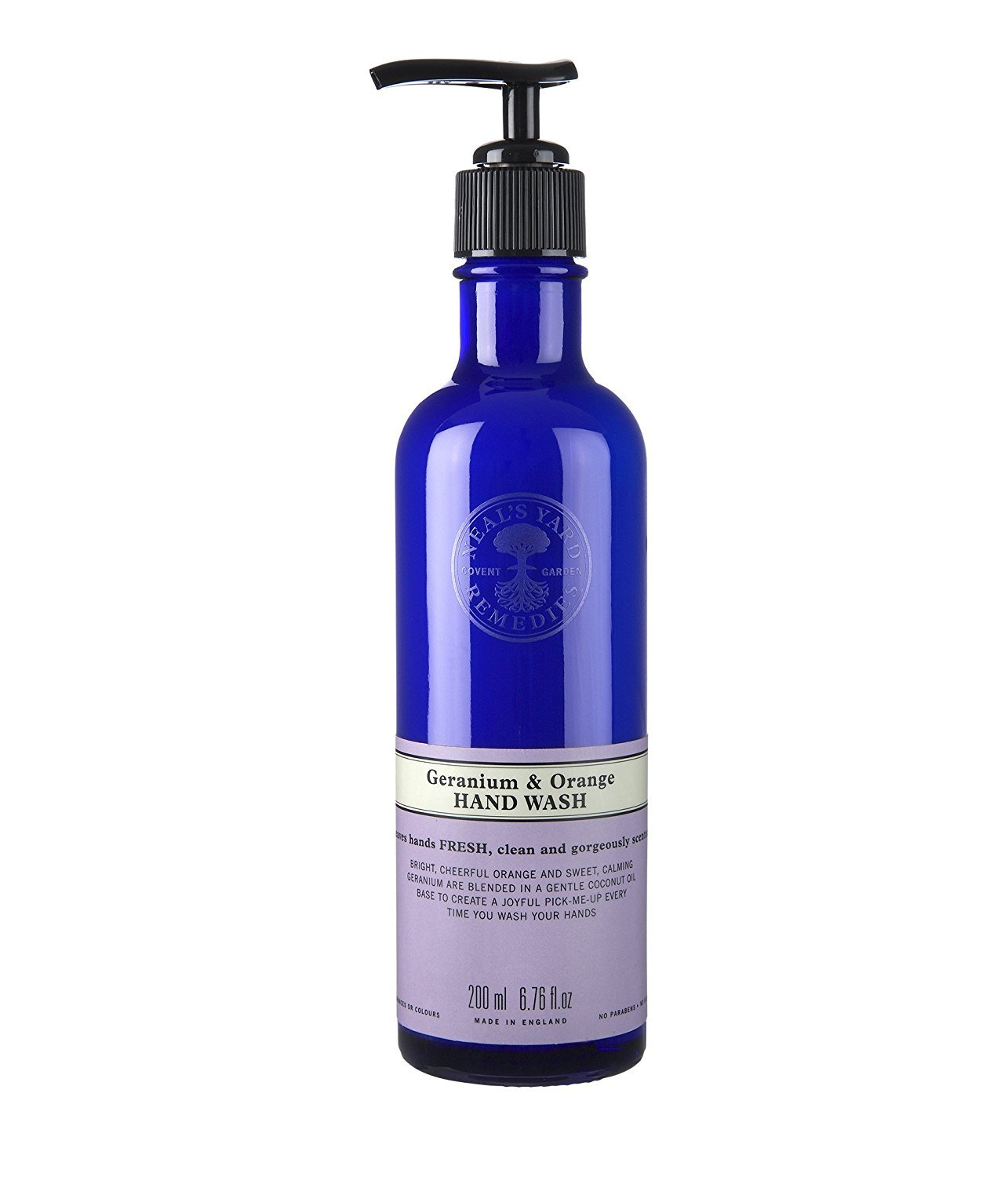 Neal's Yard Geranium and Orange Hand Wash 200ml by Neal's Yard Neal' s Yard PLU90185