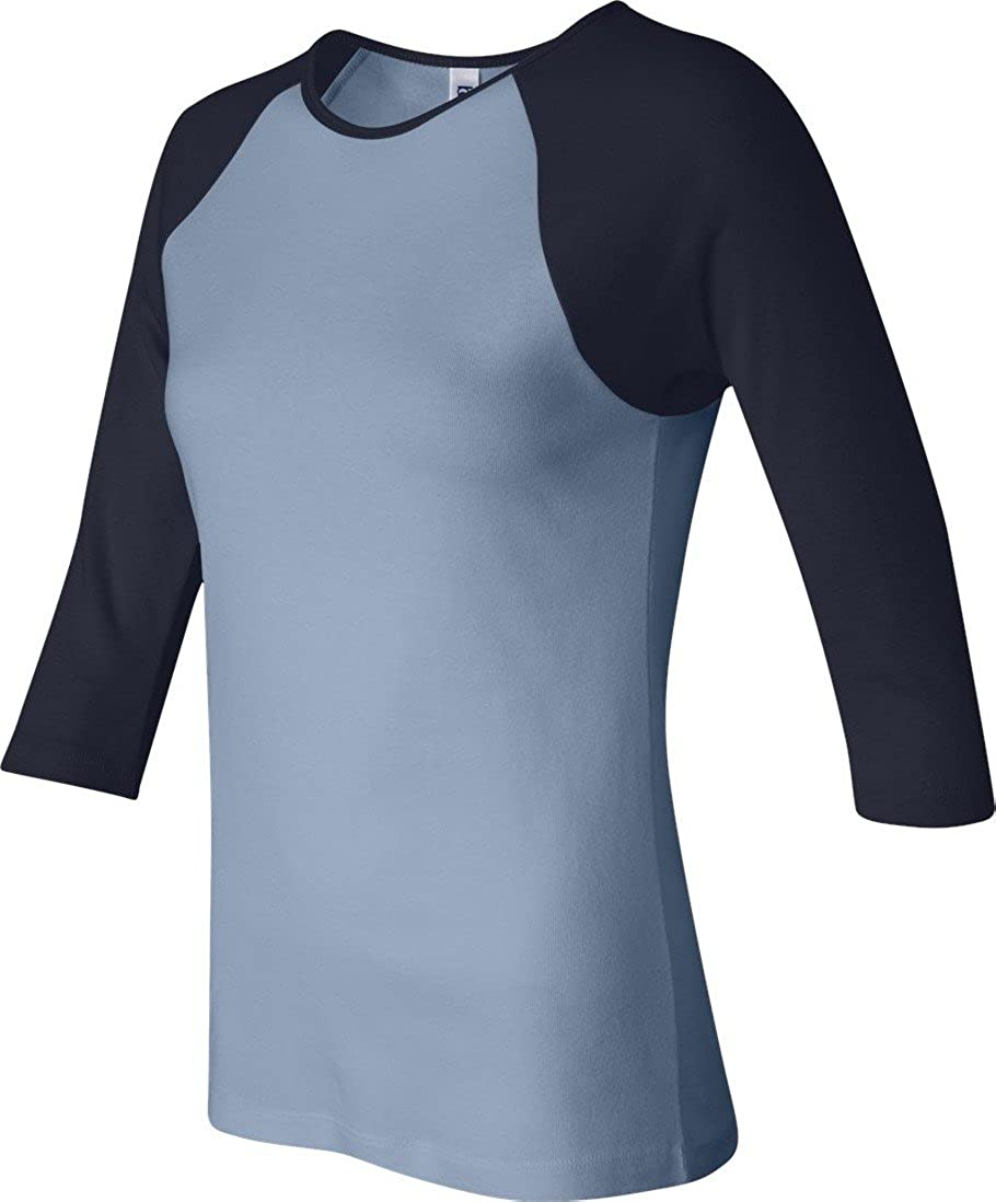 8e5f47403f310e Top1  Bella + Canvas Ladies 3 4-Sleeve Contrast T-Shirt