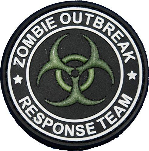 Zombie Response Team Biohazard Morale Patch Glow in the Dark