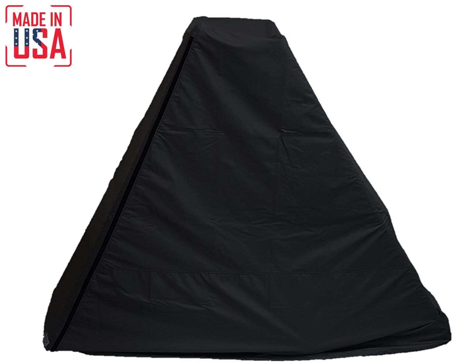The Best Elliptical Machine Cover | Front Drive. Heavy Duty Fitness Equipment Protective Covers Ideal for Indoor or Outdoor Use. Made in USA with 3-Year Warranty. (Black, Medium)