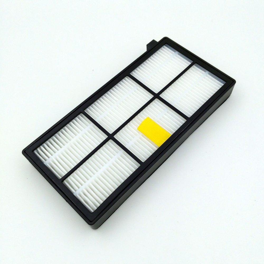 LOVE(TM)3 pack HEPA Filter & 3 armed side brush For Robot 800 series 870 880