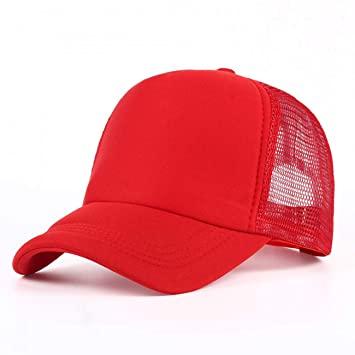GSFD&DFGW Sombreros de Camionero Lisos para Hombre para Verano ...