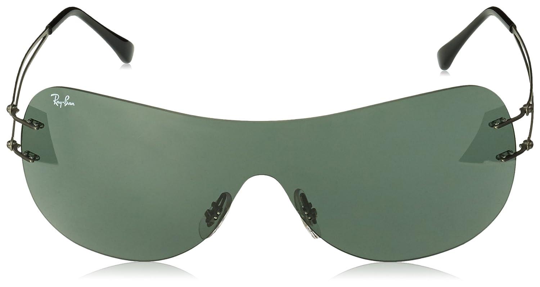 b421173f3d429d Ray-Ban 0Rb8057 004 71 0, Montures de Lunettes Mixte Adulte, Gris (Gunmetal  Green), 0  Amazon.fr  Vêtements et accessoires