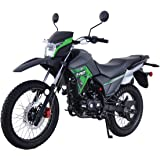 Lifan X-Pect EFI Motorcycle Bike Adult Dirt Bike 14hp Enduro Street Bike Dirt Bikes Fuel Injection Fully Assembled,Green