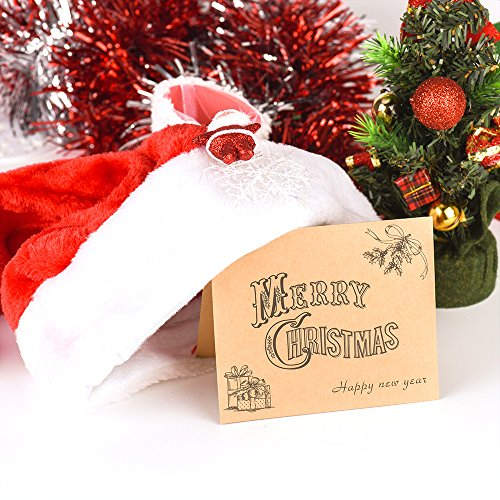 Kuuqa 36 Pieces Merry Christmas Cards Greeting Notes Cards with 36 Envelopes and 36 Stickers Photo #6