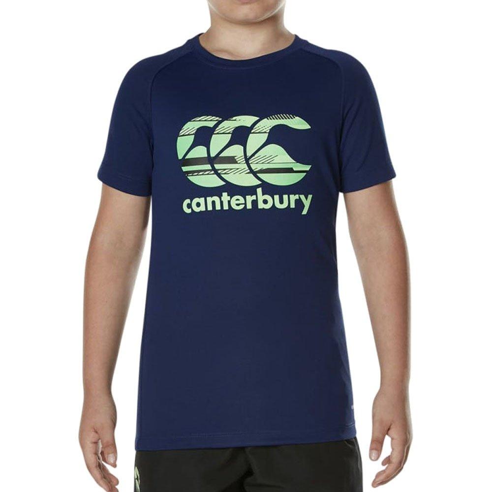 Canterbury Of New Zealand Boys' Vapodri Poly Logo T-Shirt