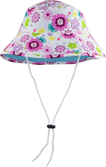 Poppyberry or Mallowberry Sun Busters Girls UV Legionnaire Hat 2-12 Years UPF50 Sun Protection