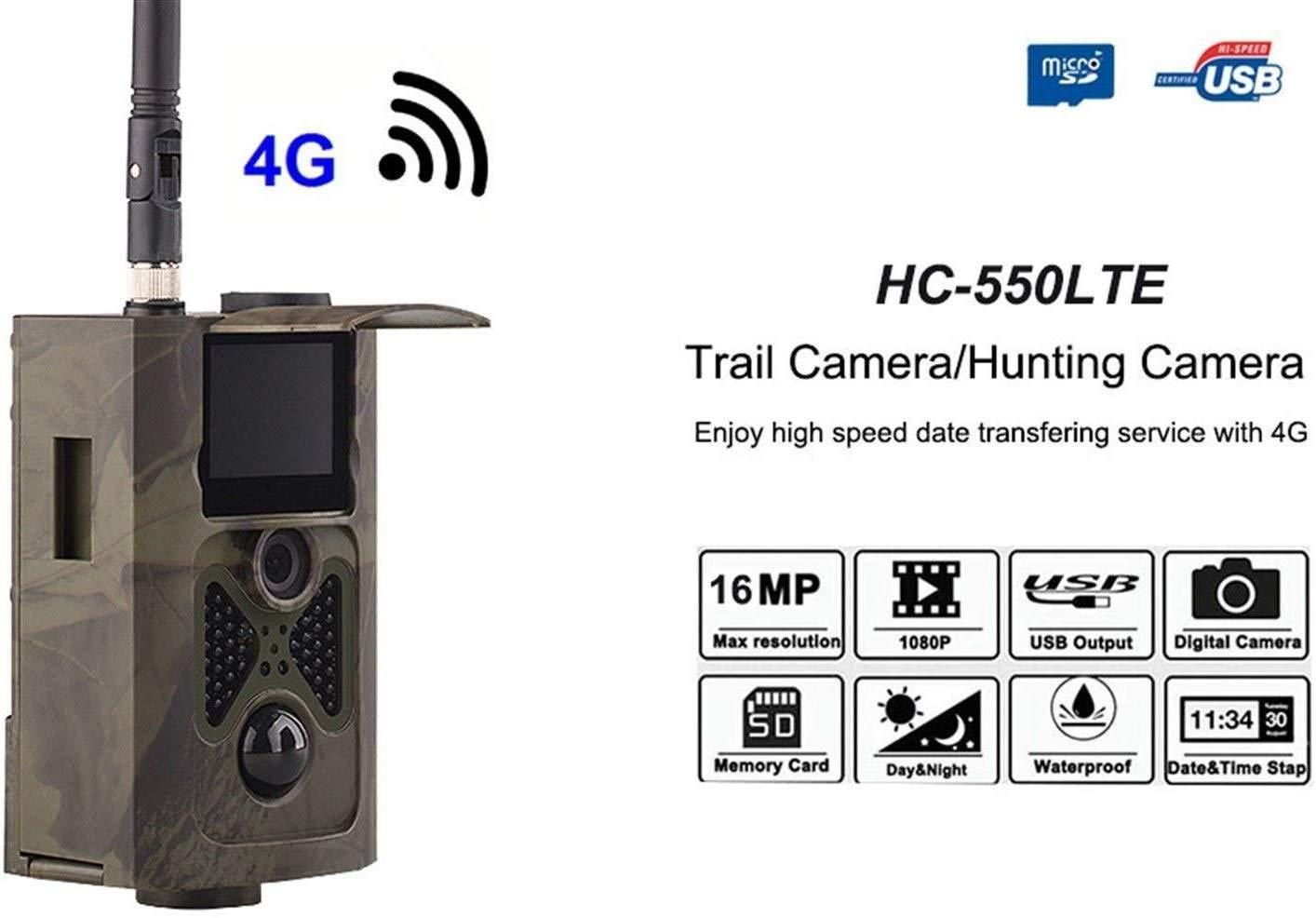 CáMara De Caza 4G Full HD, CáMara De Vigilancia 16MP 1080P, CáMara ...