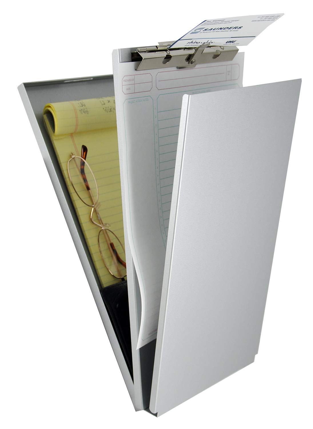 Saunders Recycled Aluminum A-Holder Form Holder, 9.5 x 12-Inches, 1 Holder (10022) by Saunders