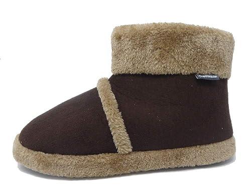 Dunlop MS150 - Zapatillas de Estar por casa de Tela para Hombre: Amazon.es: Zapatos y complementos