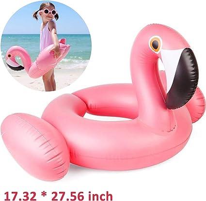 Amazon.com: Kiddy Flamingo flotador hinchable para piscina ...