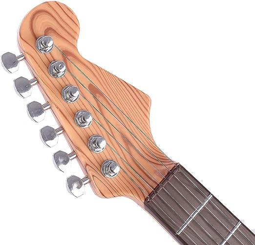 Foxom Guitarra para Niños, Cuerdas Guitarra Electrica de 67 cm, a Partir de 3 años, 6 Cuerdas Musicales Instrumento de Año Nuevo Regalo Presente: Amazon.es: Juguetes y juegos