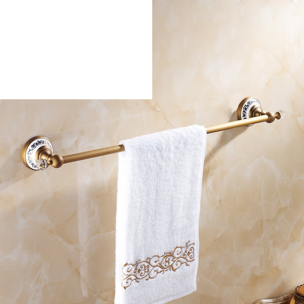 well-wreapped Rose gold towel rail/antique copper towel bar/bathroom ...