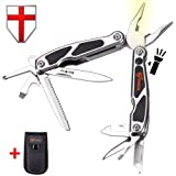 Multitool Pliers with Knife and Flashlight