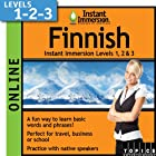 Instant Immersion Finnish – Level 1, 2 & 3 (2-year subscription)
