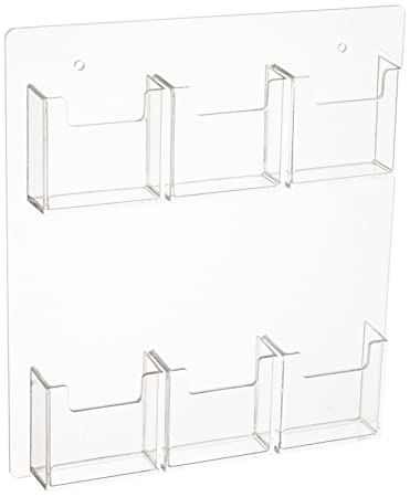 Amazon source one 6 pocket vertical wall mount business card source one 6 pocket vertical wall mount business card holder display 6p wm colourmoves