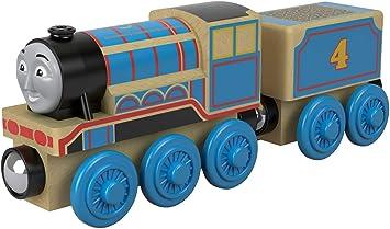 Trenino Thomas Locomotiva Gordon Treno In Legno Giocattolo Fhm45 Amazon It Giochi E Giocattoli