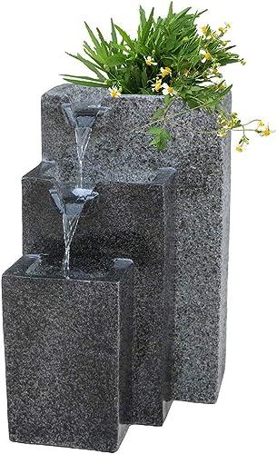 Rock Cast Stone Water Fountain