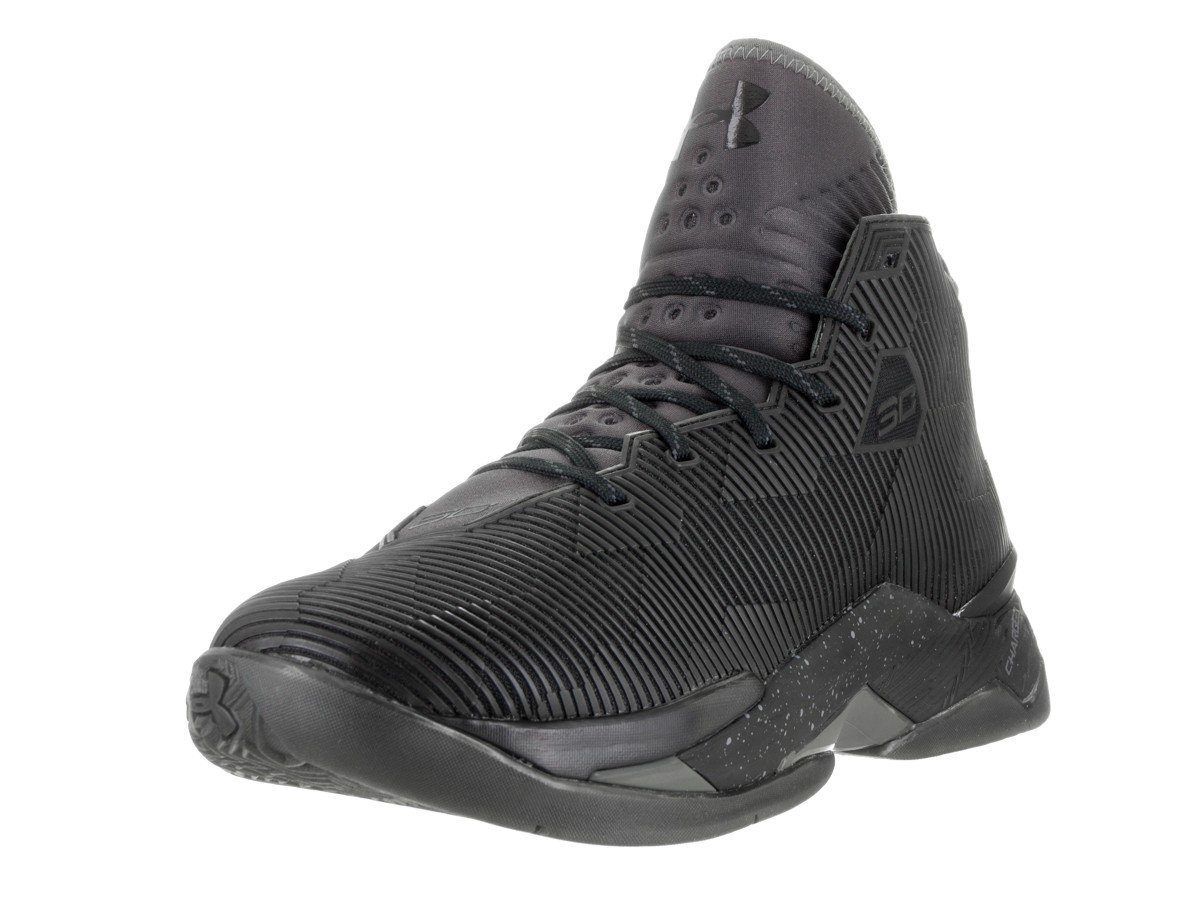 Under Armour GS Curry 2.5 (6 Big Kid M, Black/Charcoal)