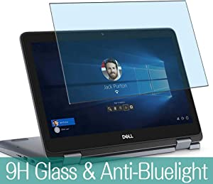 """Synvy Anti Blue Light Tempered Glass Screen Protector for Dell Inspiron 11 3195 11.6"""" Visible Area 9H Protective Screen Film Protectors"""
