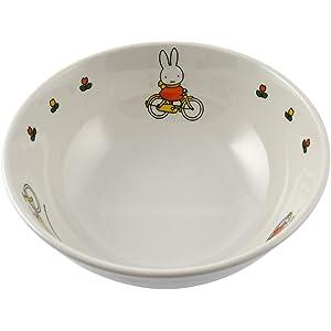 関東プラスチック工業  お子様食器 「ミッフィー」 ラーメン鉢   CM-51C  メラミン   RLC5101