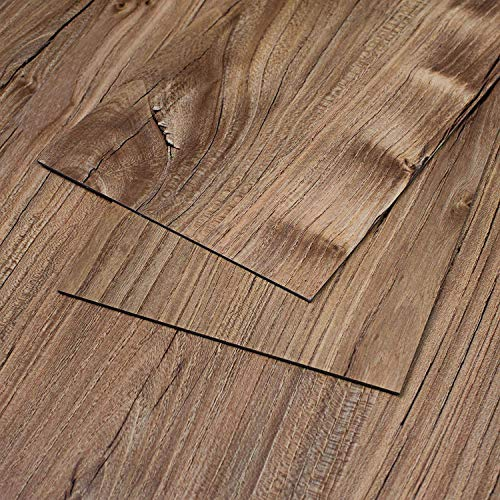 MAYKKE 47 Sq Ft Restored Pine Vinyl Plank Flooring 48