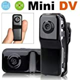 TOTO® MINI DV HIDDEN VIDEO CAMERA SPY CAM CAMCORDER