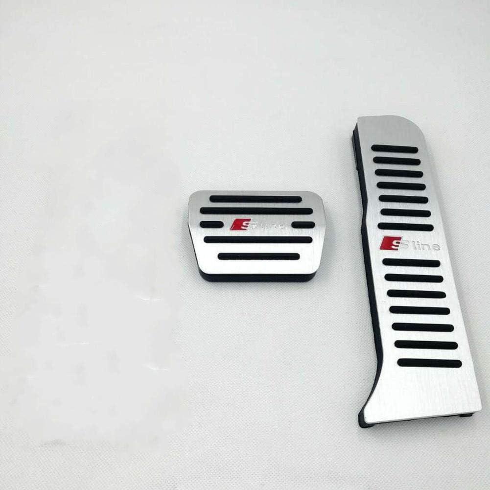 ZIMAwd //Accessoires de Couverture de/p/édale de Repose-Pieds de Frein dacc/él/érateur Automatique Automatique/ pour Audi A3 2005-2012 Q3 TT